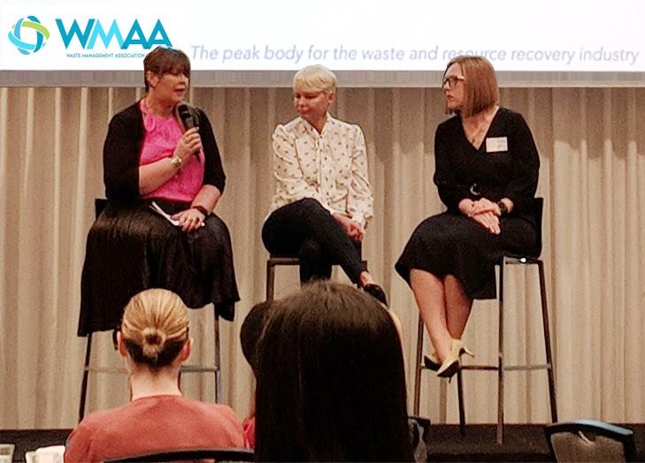 Women in Waste Breakfast with WMAA